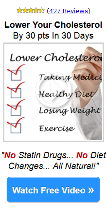 Anti aging benefit from lower cholesterol