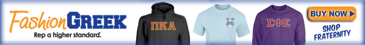 Get fraternity merchandise at Fashiongreek.com