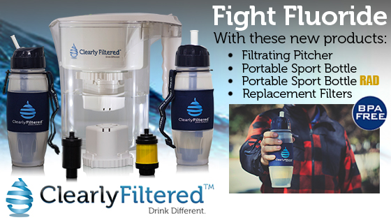 Really? A water pitcher that removes fluoride? Finally! Introducing the Clearly Filtered water pitcher!