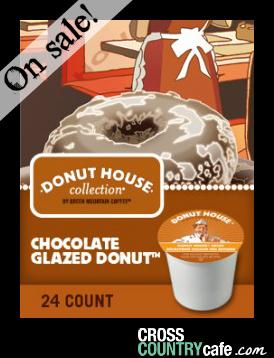 Chocolate Glazed Donut Keurig K-cup coffee