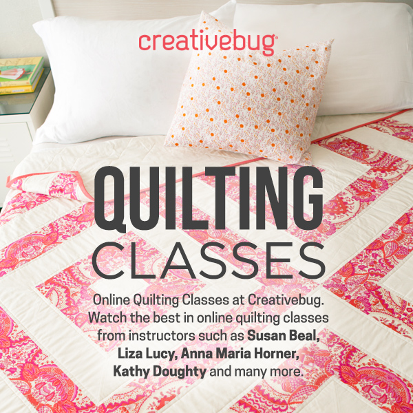 One of my favorite ways to learn is by taking an online craft class. I've improved my sewing skills, learned all about quilting, enhanced my photography, and even taken a drawing course. You can learn just about anything from an Online Craft Class.