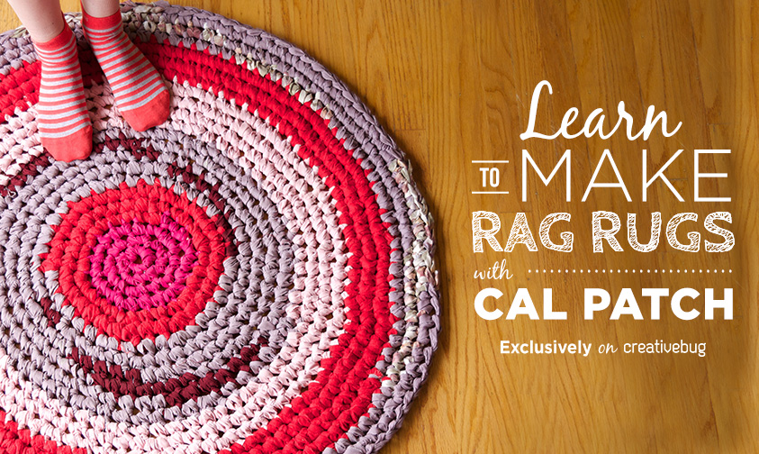 How to Crochet with Fabric Strips • The Crafty Mummy