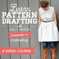 Pattern Drafting Course with Cal Patch
