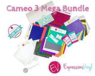 Expressions vinyl Cameo 3 Mega Bundle