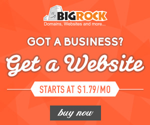 Got a business? Get a website
