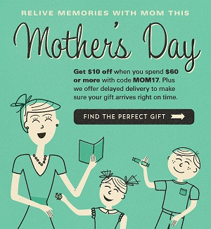 Mother's Day Candy Sale - Spend $60 Or More & Get $10 Off With Code: MOM17! Sale Begins 4/20 & Ends 5/12! Click Here!