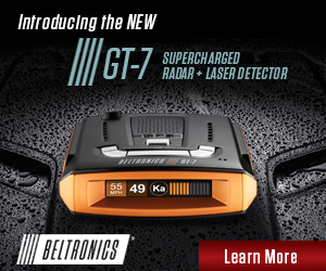 Extreme Range Radar-Laser Detector with Expert Accuracy: Leave all of your worries behind with the all-new Beltronics GT-7, the most wicked high-performance radar-laser detector on the road.