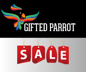 Sale at Gifted Parrot.com