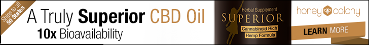 HoneyColony Superior CBD Hemp Oil
