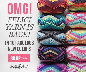 Felici Self Striping Yarn from Knit Picks
