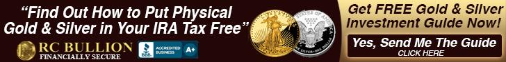 New Free Gold IRA Account, RC Bullion precious metals investing