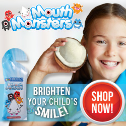 Naturally whiten children's teeth!