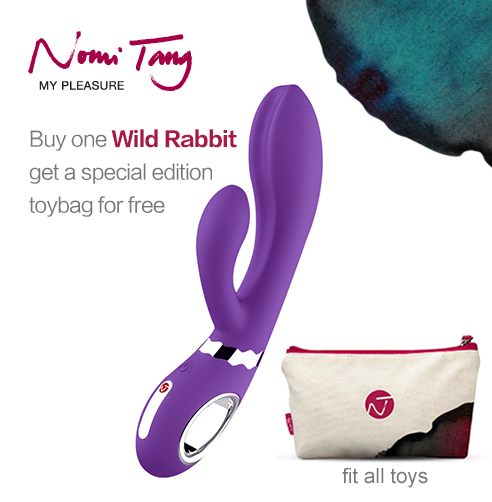 Buy one Wild Rabbit from Nomi Tang, get a special edition toybag for free