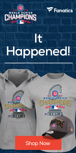 Chicago Cubs 2016 World Series Champ
