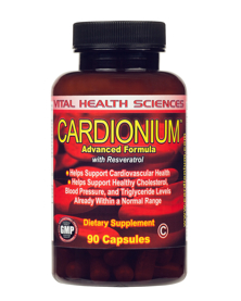 Cardionium - Advanced Cardiovascular Health Formula!